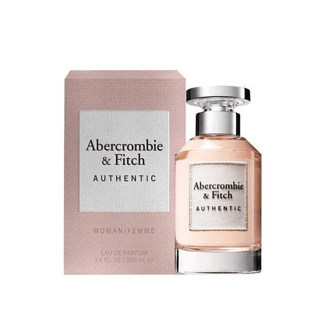 Perfume Abercrombie Authentic Mujer Edp 100 ml