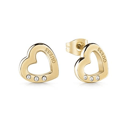 Aros Mujer Guess Hearted Chain Ube29059