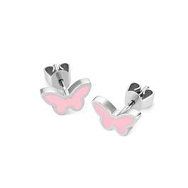 Aros Swatch Jep020U Fafallette Earings St Steel Pink