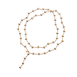 Collar Swatch Jpm077U Lustro Necklace Rose Gold White Crystal