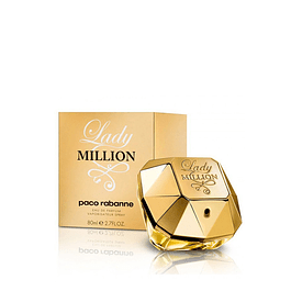 Perfume Lady Million Mujer Edp 80 ml