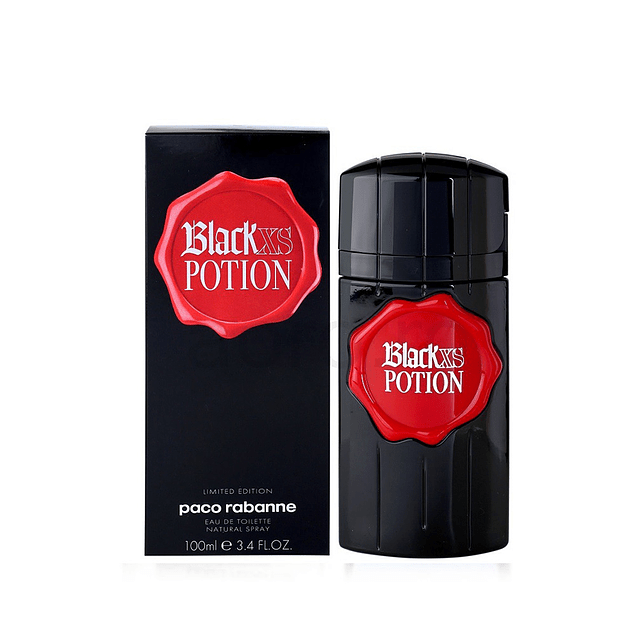 Perfume Xs Black Potion Hombre Edt 100 ml