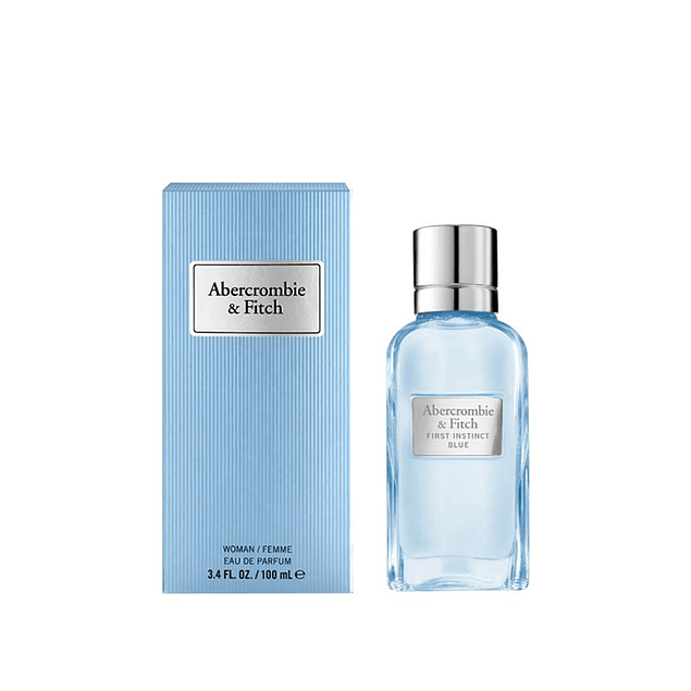 Perfume Abercrombie First Instinct Blue Mujer Edp 100 ml