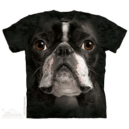 Polera The Mountain Boston Terrier