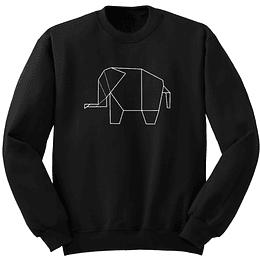 Polerón Miguras Origami Elefante