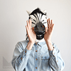 Máscara fiesta Cebra