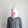 Máscara fiesta Unicornio