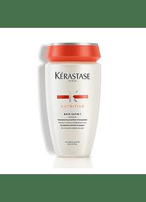 Shampoo Bain Satin 1 / Cabello normal a Seco 250 ml