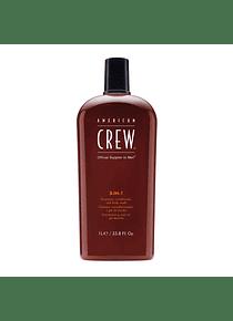 Shampoo para Hombre 3 en 1    250 ml