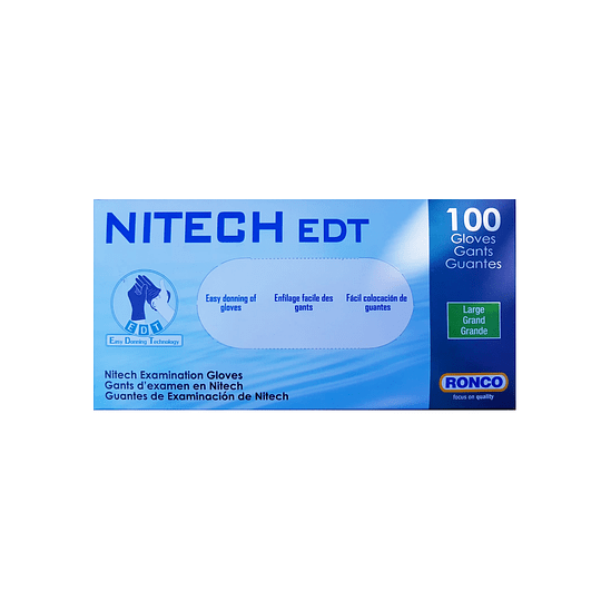 Guantes de Nitech Talla L (100U)