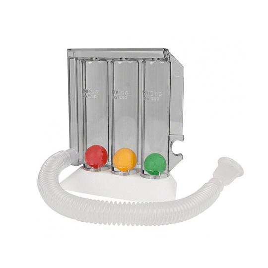 TRIFLO Incentivador Inspirometro Ejercitador Respiratorio