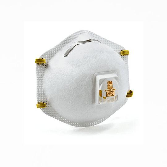 Mascarillas N95 3M 8511 (caja 10 unidades)