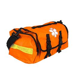 Bolso naranjo con reflectante