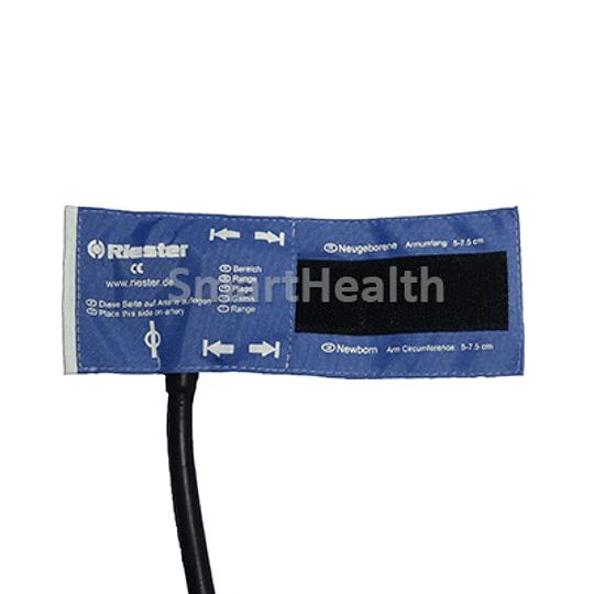 Brazalete Neonatal un tubo Riester (5-15,5 cm)