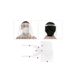 Protector Escudo Facial Policarbonato Stop Virus
