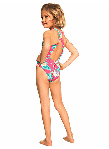 Fato Banho Roxy Girls Magical Sea One Piece