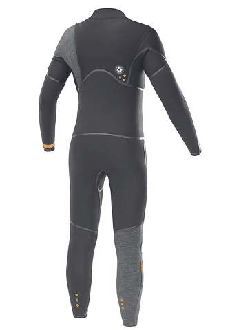 Fato Surf Picture Dome 4/3 Front Zip