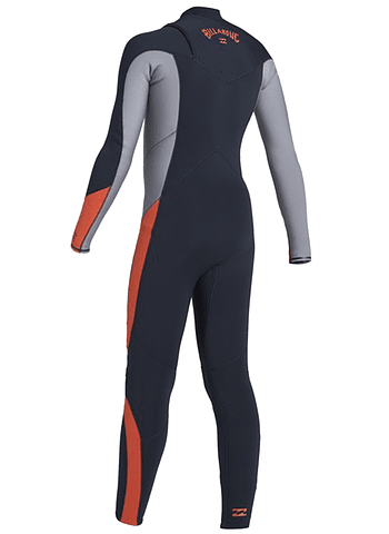 Fato Neoprene Billabong 4/3 Absolute GBS - Chest Zip