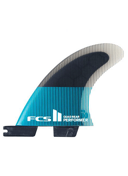 Quilha FCS II Performer PC Small Tri Fins