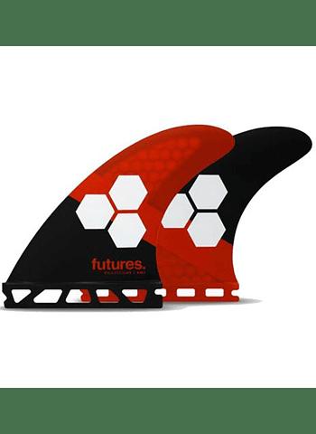 Quilhas Future Fins Al Merrick 3 Honeycomb