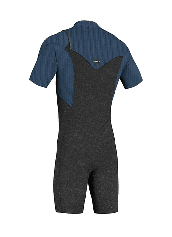 O'Neill Hyperfreak 2mm Chest Zip Short Sleeves Mens Full Wetsuit