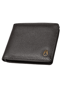 Carteira Pele Nixon Pass Leather Coin