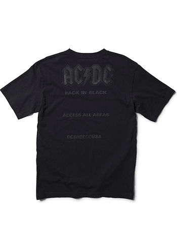 T-Shirt DC AC/DC Back In Black