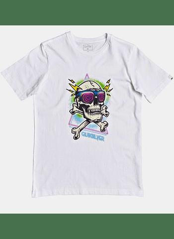 T-Shirt Criança Quiksilver Hell Revival