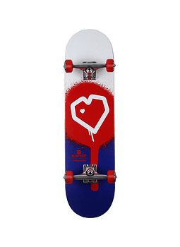 Skate Blueprint Spray Heart 8.0