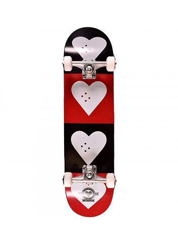 Skate Completo Heart Supply Quad Logo