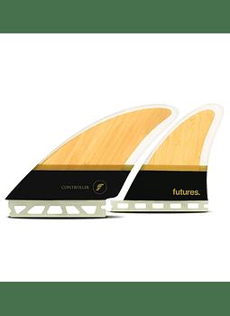 Quilhas Future Fins Controller Fiberglass Quad