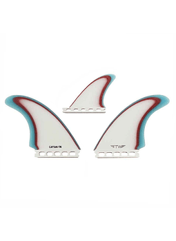 Quilhas Captain Fins Tyler Warren TWIN ESPECIAL