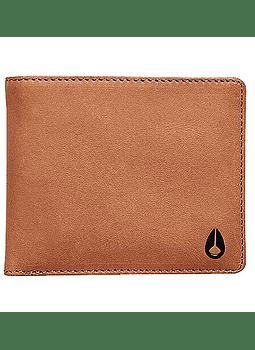 Carteira Pele Nixon Pass Leather Coin