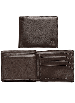 Carteira Pele Nixon Pass Vegan Leather Coin