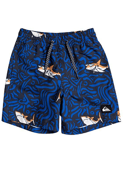 Volleys Quiksilver Boys Sharky Volley 12