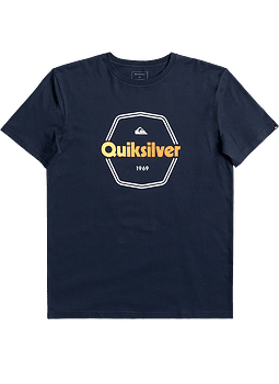 T-Shirt Quiksilver Mens Hard Wired