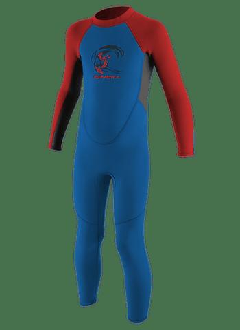 Fato Surf O'neill Kids Toddler Reactor-2/2mm Back Zip Full