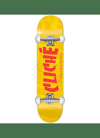 Skate Completo Cliche Banco 7.5