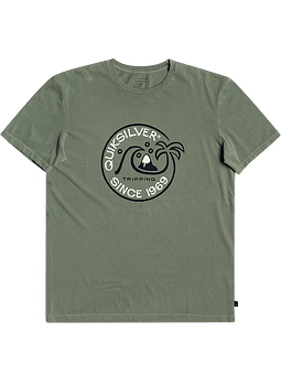 T-Shirt Rapaz Quiksilver Into The Wide