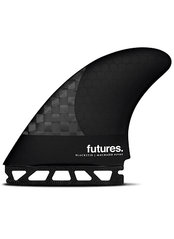 Quilhas Future Fins Machado Pivot V2 Blackstix Large Swirl