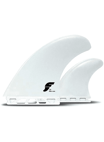 Quilhas Future Fins T1 Twin + 1 Thruster