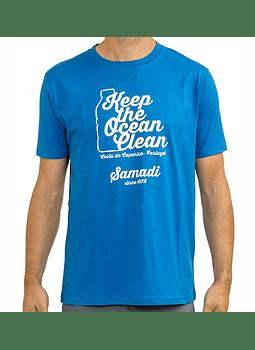 T-Shirt Mens Samadi Keep the Ocean Clean