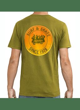 T-Shirt Mens Samadi On Fire