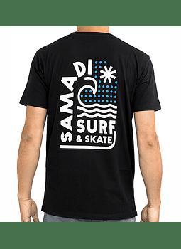 T-Shirt Mens Samadi Wave Drops
