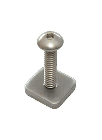 Parafuso FCS Long Board Screw And Plate Smart Screw