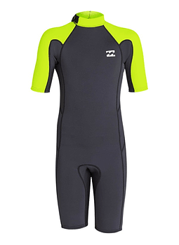 Fato Neoprene Billabong 2/2 Absolute Flatlock Backzip
