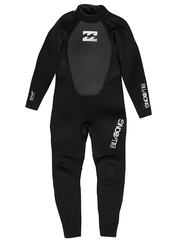 Billabong 3/2 Intruder Back Zip Neoprene Costume