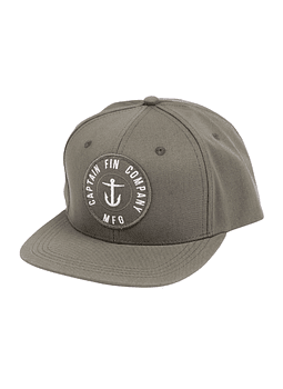 Captain Fin Marine 6 Panel Hat Cap