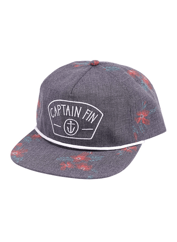 Captain Fin Florange 5 Panel Hat Cap