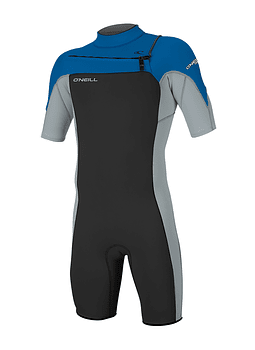O'Neill Hammer 2MM Chest Zip S / S Mens Spring Wetsuit
